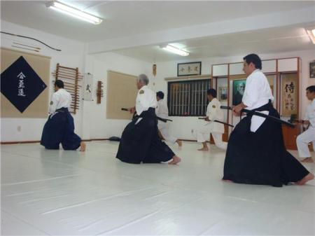 Demostración de Iaido