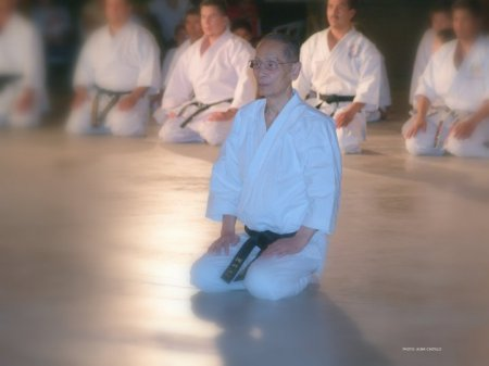Sensei Asai en su última visita a JKS México