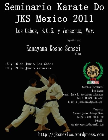 Seminario Sensei Kanayama - JKS Mexico 2011