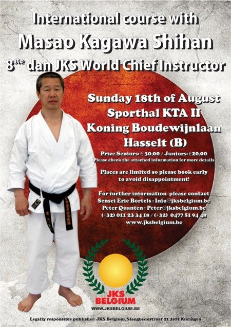 European course with Kagawa Shihan (Belgium-info)
